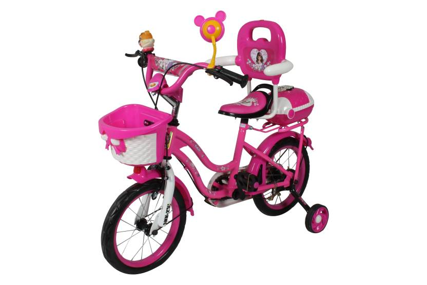 35a7b85d1c6 HLX-NMC KIDS BICYCLE 14 BOWTIE PINK WHITE 14 T Recreation Cycle (Single  Speed