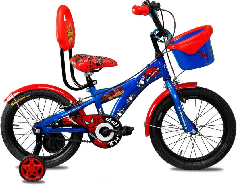 Hero Disney 16T Marvel Ultimate Spiderman 16 T Recreation Cycle (Single  Speed 0fd09fa1d