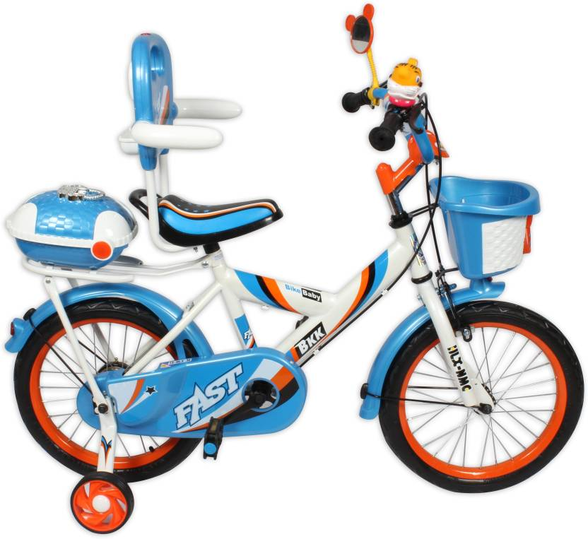 HLX-NMC KIDS BICYCLE 16 BOWTIE WHITE/BLUE 16 T Single Speed Recreation Cycle