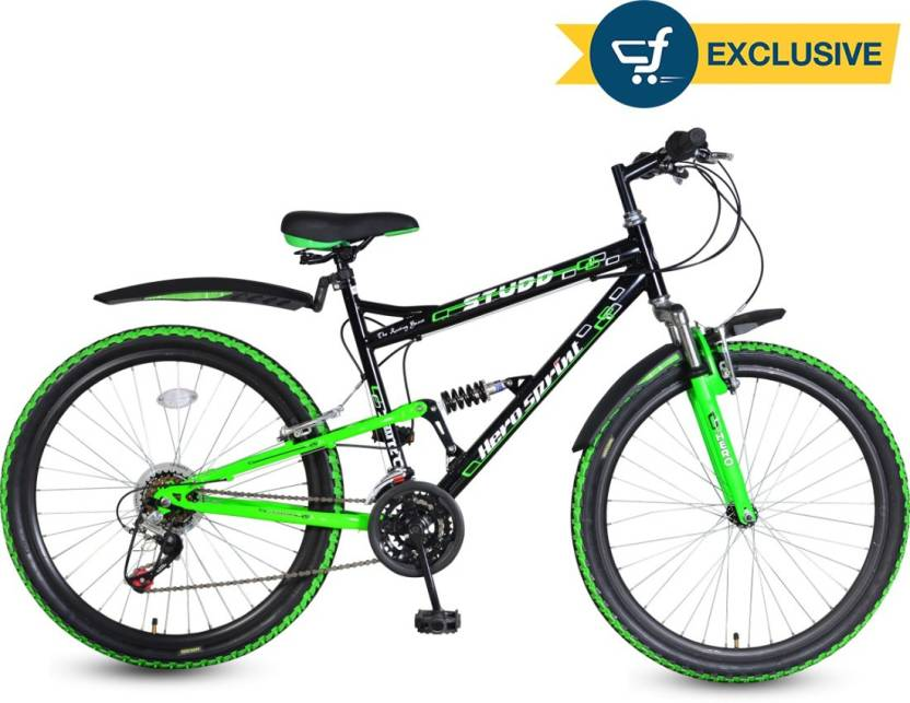 a0cdcaf2883 Hero Studd 26T 18 Speed Sprint 26 T Mountain Cycle Price in India ...