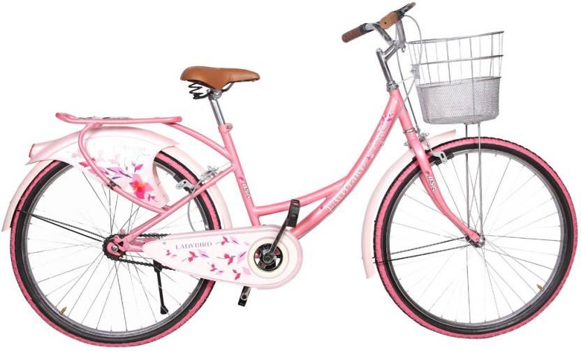 c6be2d31f3f BSA Lady bird Shine breeze Single Speed 24 T Girls Cycle/Womens Cycle