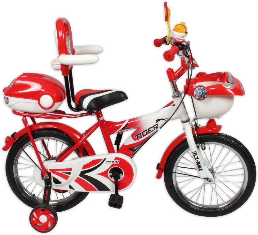 1b1430264fb HLX-NMC KIDS BICYCLE 16 CAR-X RED WHITE 16 T Recreation Cycle (Single Speed
