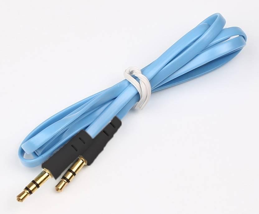 ShoppingKiSite Aux Cable, Car Aux Cable, Colorful Slim Thin Noodle ...