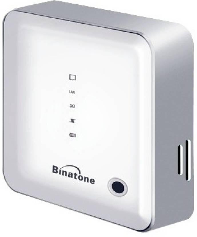Binatone 3 in 1 Data Card with 3G/ Wi-Fi/ Power Bank