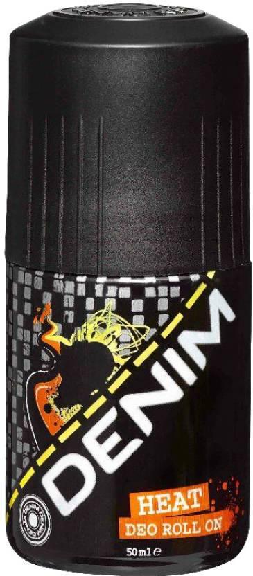 Denim Heat Deodorant Roll-on  -  For Men