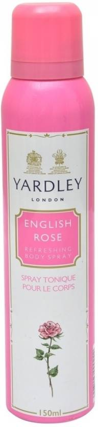 Yardley London English Rose Deodorant Spray  -  For Women