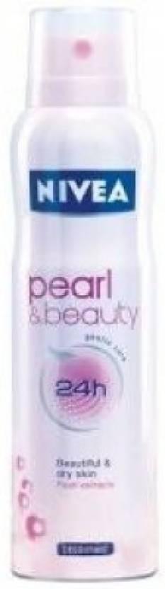 Nivea Pearl & Beauty Deodorant Spray  -  For Women