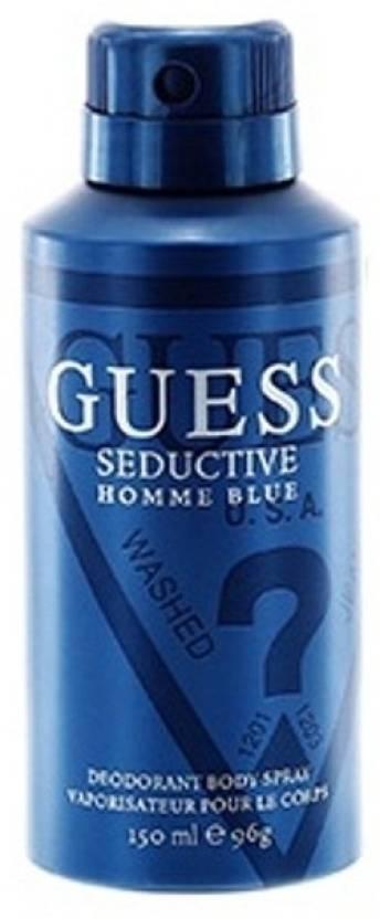 Guess Seductive Homme Blue Deodorant Spray - For Men - Price in ... 6bda53a9dd