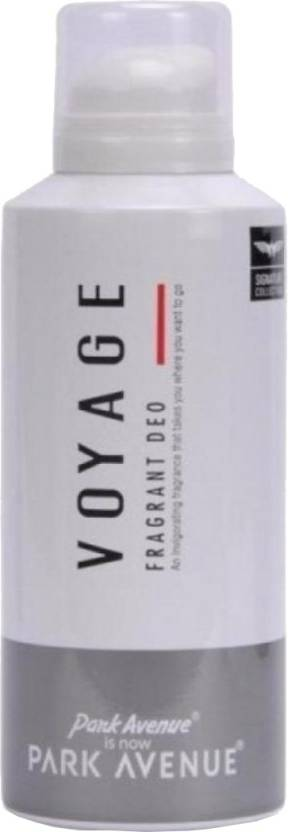Park Avenue Voyage Deodorant Spray  -  For Men