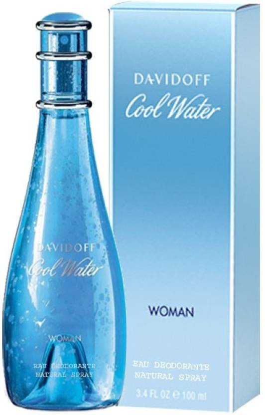 Davidoff Cool Water Deodorant Spray  -  For Women