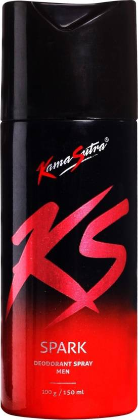 KamaSutra Spark Deodorant Spray  -  For Men