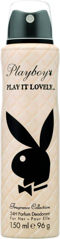 Play Boy Play it Lovely Deodorant Spray  -  For Women