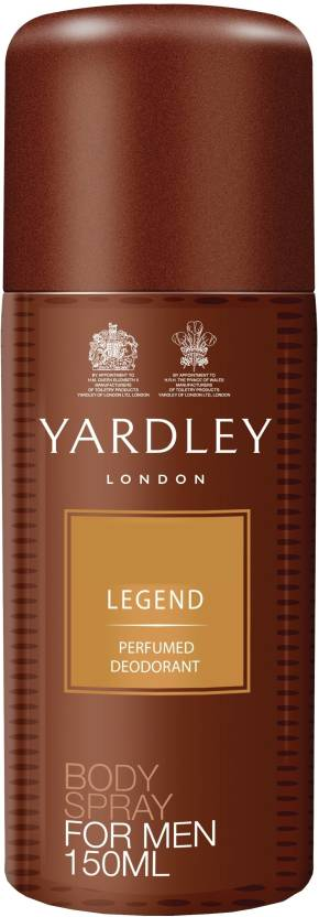 Yardley London Legend Deodorant Spray  -  For Men
