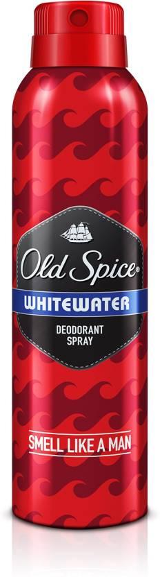 Old Spice White Water Deodorant Spray  -  For Men