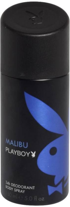 Playboy Malibu Deodorant Spray  -  For Men