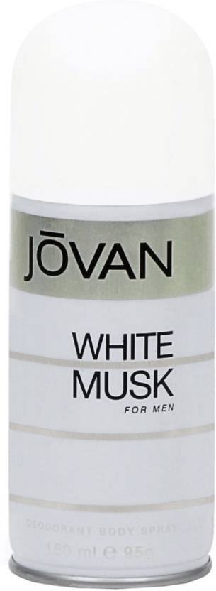 Jovan White Musk Deodorant Spray  -  For Men