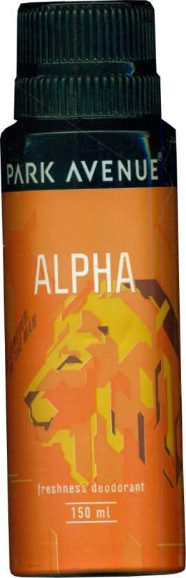 Park Avenue Alpha Deodorant Spray  -  For Men