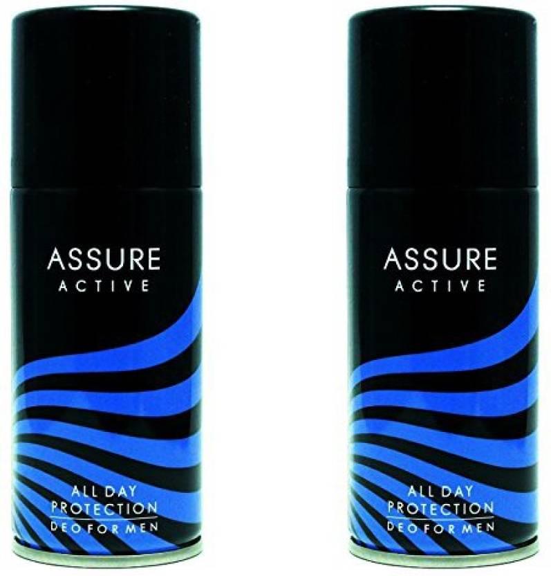 Assure Active Deodorant Spray For Men Price In India Buy Assure