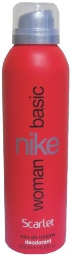 Nike Basic Scarlet Deodorant Spray  -  For Women
