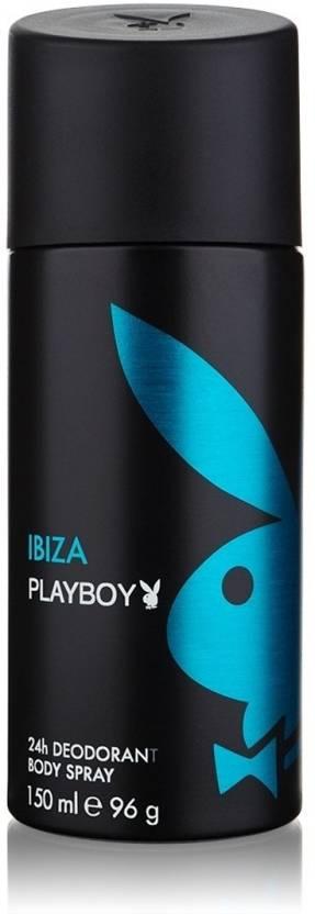 Play Boy Ibiza Deodorant Spray  -  For Men