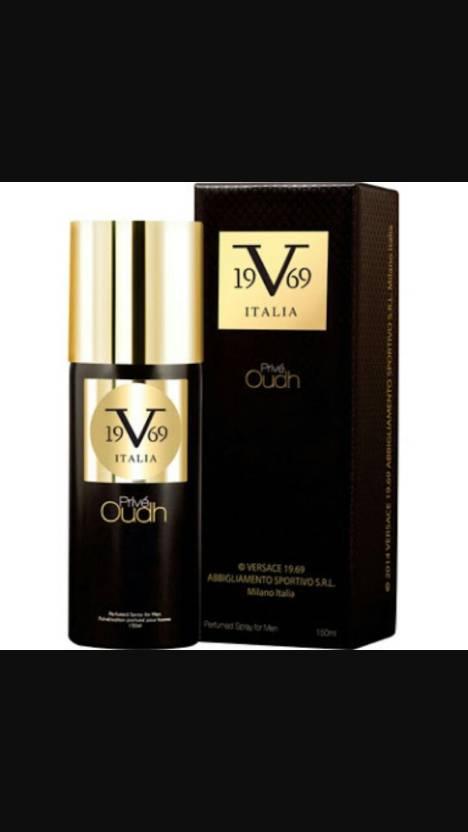 607e568fea498a VERSACE 19.69 ABBIGLIAMENTO SPORTIVO S.R.L MILANO ITALIA PRIVE OUDH Body  Spray - For Men