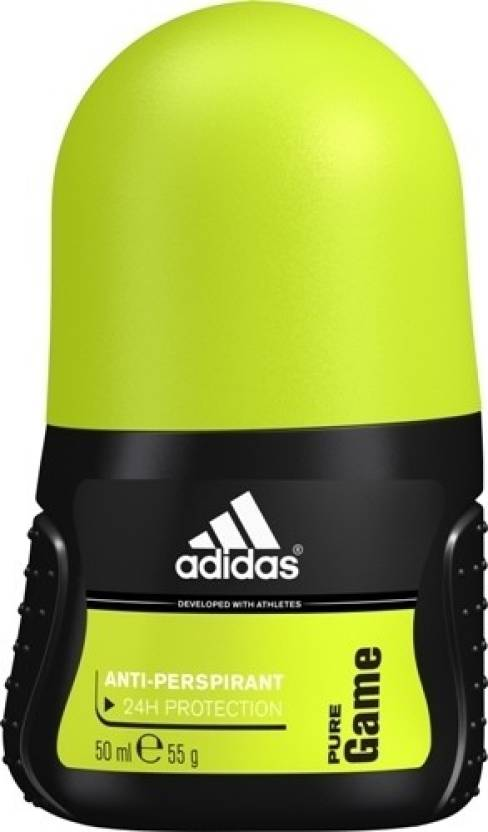 newest 52194 97087 ADIDAS Pure Game Deodorant Roll-on - For Men (50 ml)