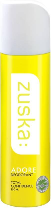 Zuska Adore Deodorant Spray  -  For Women