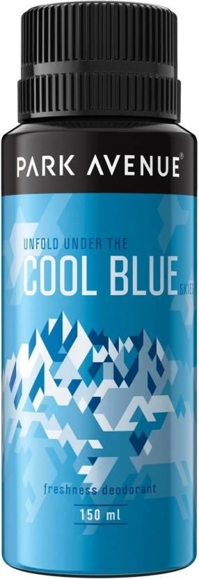 Park Avenue Cool Blue Deodorant Spray  -  For Men