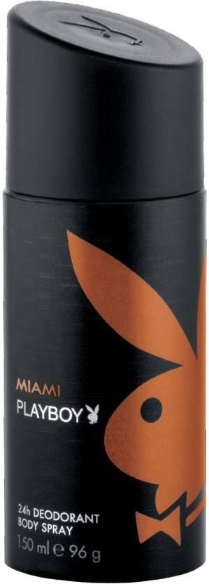 Play Boy Miami Deodorant Spray  -  For Men