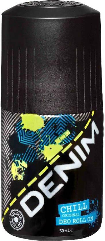 Denim Chill Deodorant Roll-on  -  For Men
