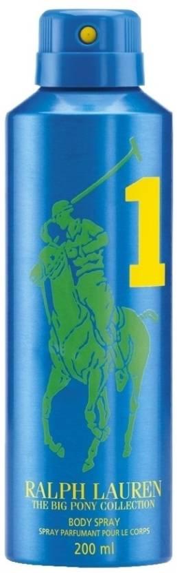 Ralph Lauren Big Pony 1 Deodorant Spray  -  For Men