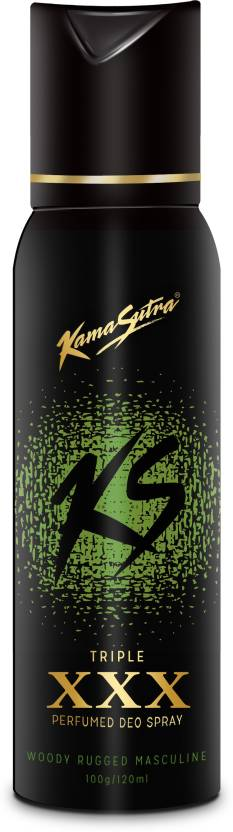 KamaSutra Triple XXX Deodorant Spray  -  For Men