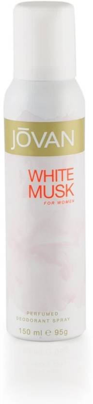 Jovan White Musk Deodorant Spray  -  For Women