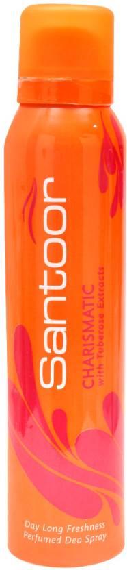 Santoor Charismatic Deodorant Spray  -  For Women