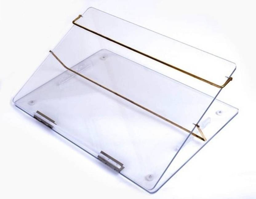 delite acrylic adjustable height writing pad table top small (laptop