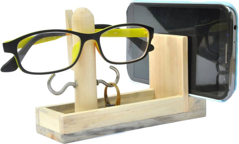 Ivei Classy 2 Compartments Wooden Spectacle Holder
