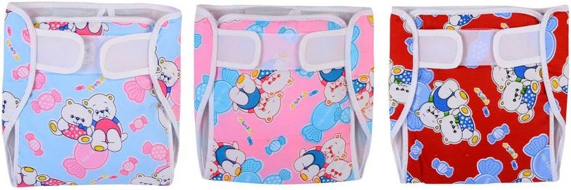 754b4781cf3 Chhote Janab BABY CLOTH DIAPER WITH EXTRA PAD - M - Buy 3 Chhote ...