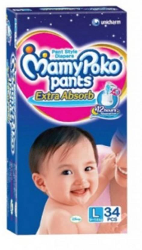 MamyPoko Pants Diaper - L