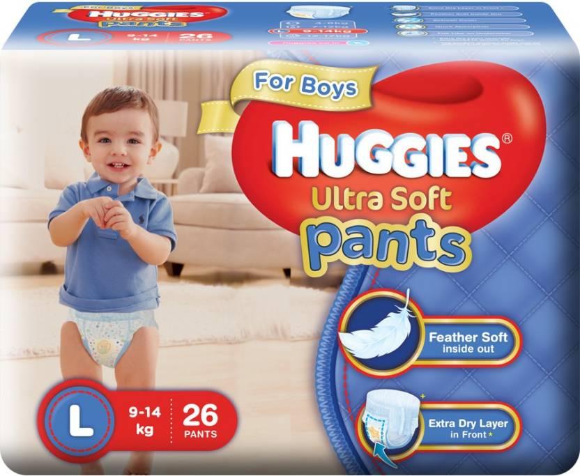 Huggies Ultra Soft Pants - L