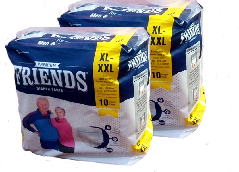 Friends PULL UPS/ DIAPER PANTS XL-XXL PACK OF 2 - XL, 3XL