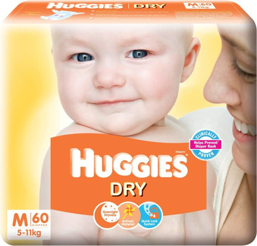 Huggies New Dry - M