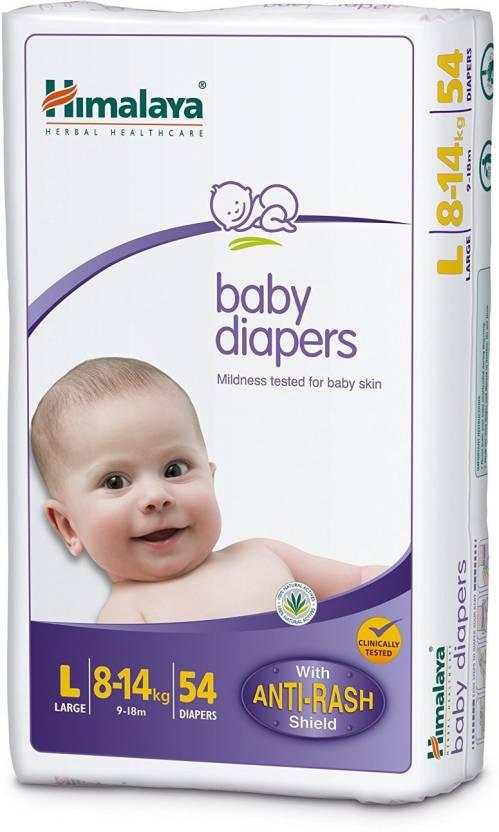 Himalaya Baby Diaper - Medium 54 Pieces - Medium