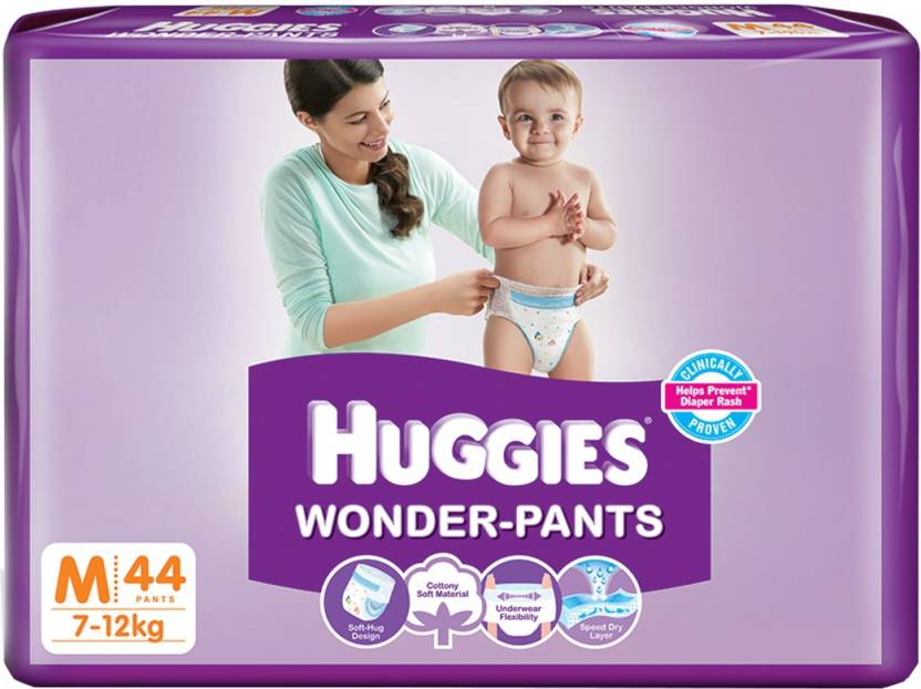 Huggies Wonder-pants Diaper - M
