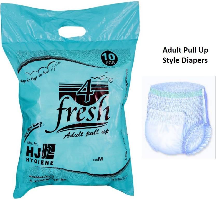 4Fresh Adult Pull Up Diaper - M