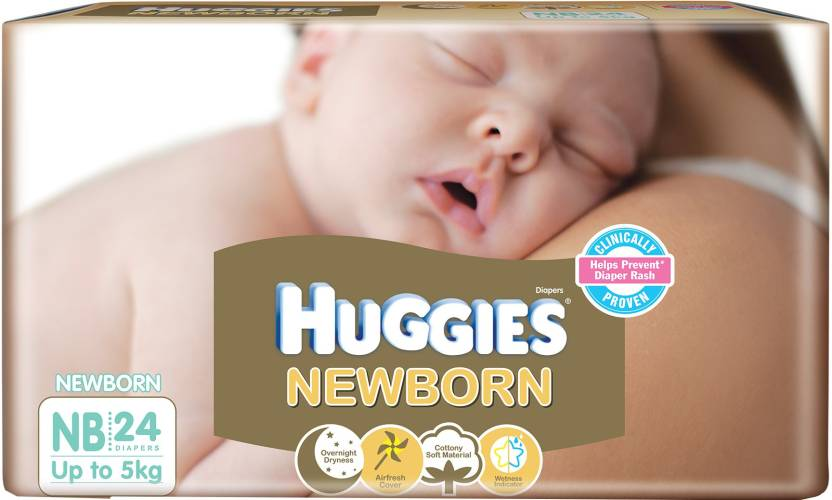 Huggies New Born - S