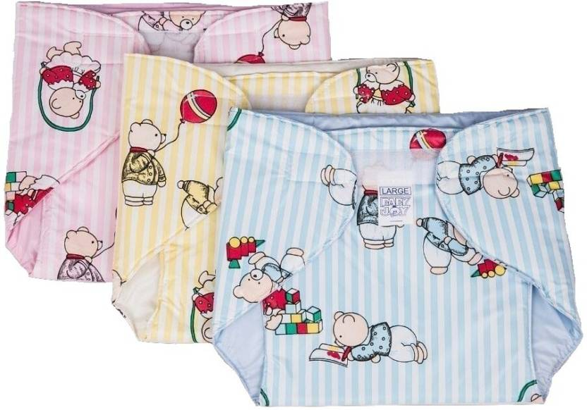 Baby Joy Inside Outside NonToxic WaterProof Diaper (6-12 Months) ...