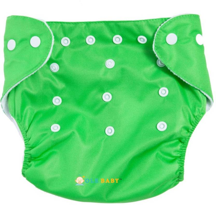 Ole Baby Cloth REUSABLE Nappy Organic Cotton Anti Bacterial Washa...