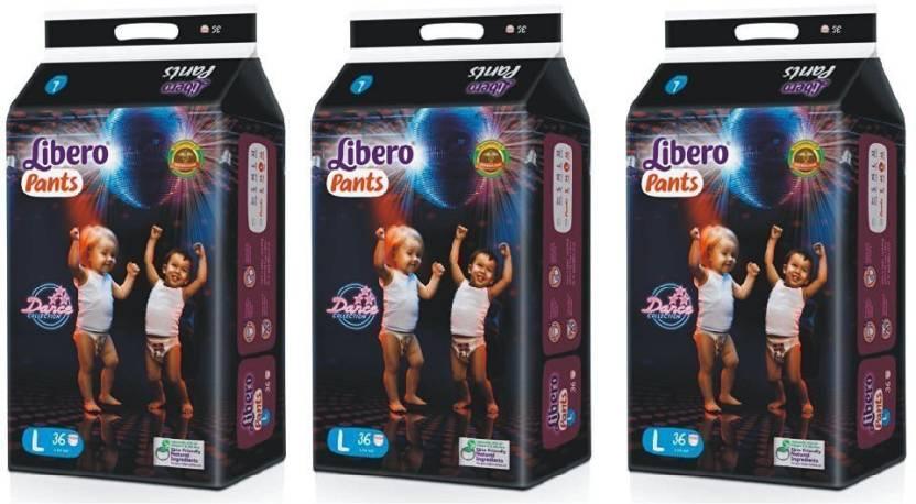 Libero diaper pent large - L