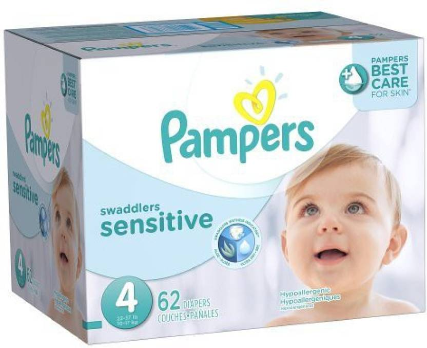 Pampers Swaddlers Sensitive Diapers - M
