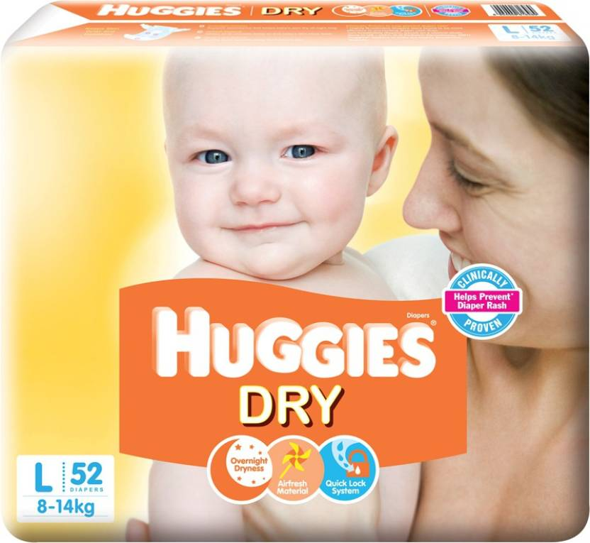 Huggies New Dry - L